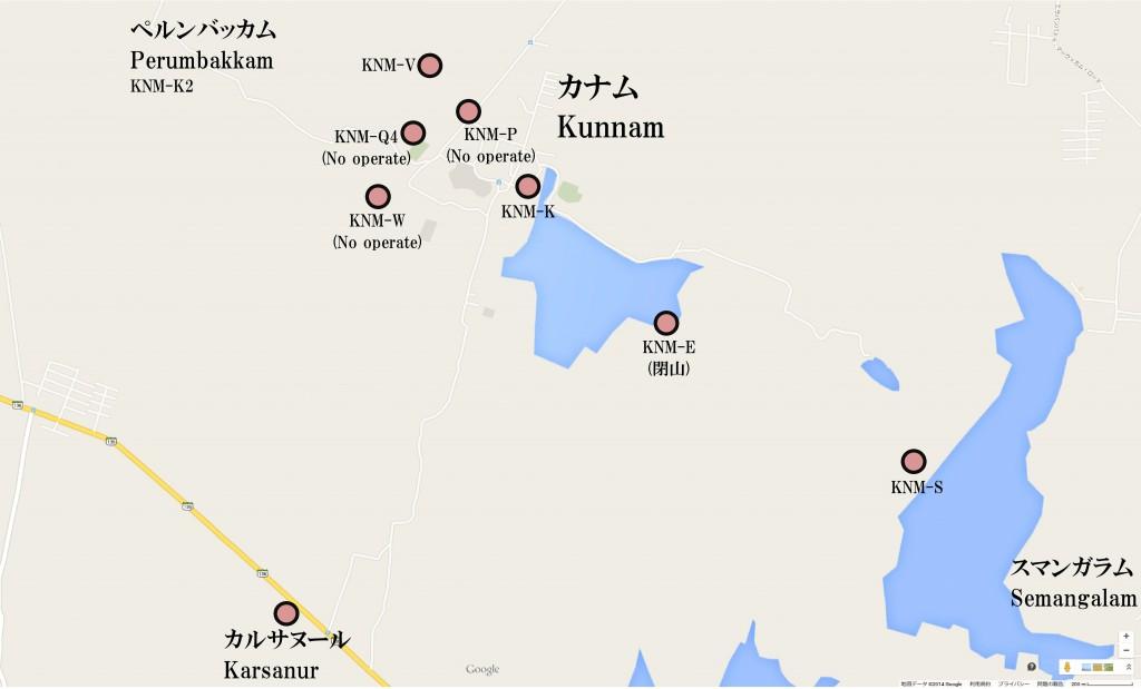 クンナム位置
