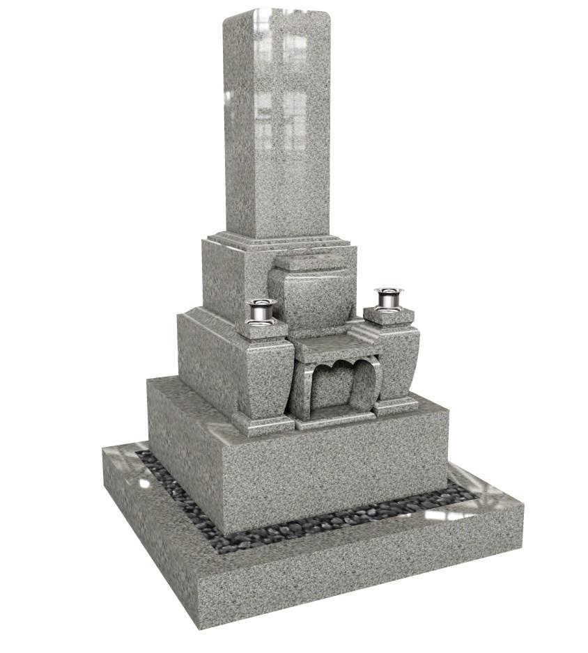 正法寺 1m  三段墓